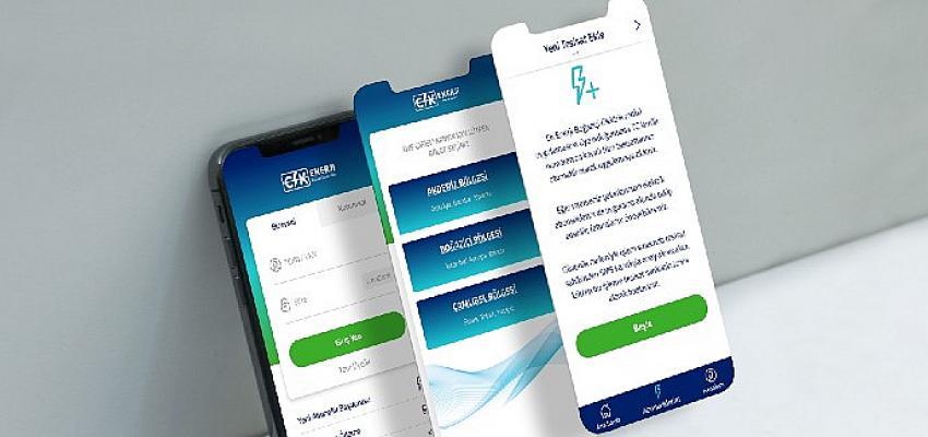 CK Enerji, 7 ildeki elektrik tüketicilerini aynı mobil uygulama çatısı altında buluşturdu