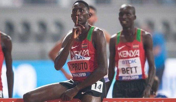 Olimpiyat şampiyonu atlet Kipruto koronavirüse yakalandı